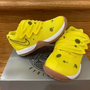 Spongebob kyrie 5 limited editions